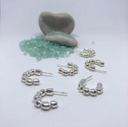 Rocky hoop earrings