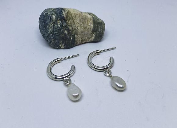 Dual pearls - Earrings