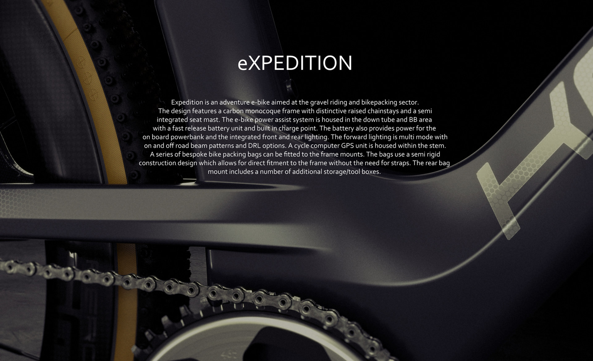 eXPEDITION gravel bike