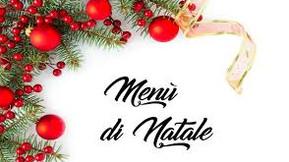Menu della Vigilia di Natale/Christmas Eve Menu