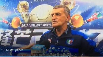 Adriano Paschetta, il vero rappresentante della sportività italiana in Cina/Adriano Paschetta and th