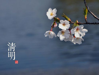 清明节- Qingmingjie un giorno di gioia non solo di preghiera/ 清明节-Qingmingjie A day of prayer and joy
