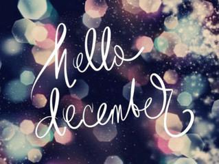 Hello December, Bye bye 2016