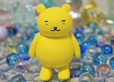 黄ぐまくんはガラスがとても好きです☆