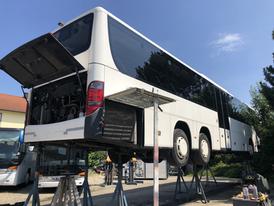 Entrostung Setra 417 UL  - Firma Omnibus Kronberger - Neumarkt St. Veit - 2020