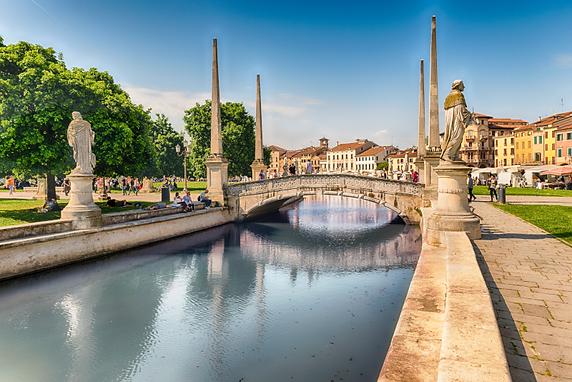 Die Villen des Brenta Kanals