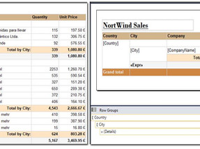 SSRS: Create Grouped Report with subtotals