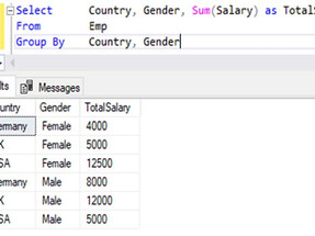 Grouping in SQL Server