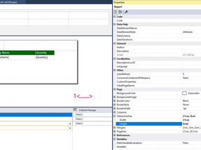 SSRS: Display all the table rows on a single page