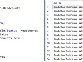 Create a Stored Procedure in SQL Server.