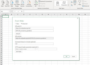 How to Import Data from a Website to Excel?