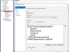 SSRS: Create a Sub Reports and Call it in the Main Report