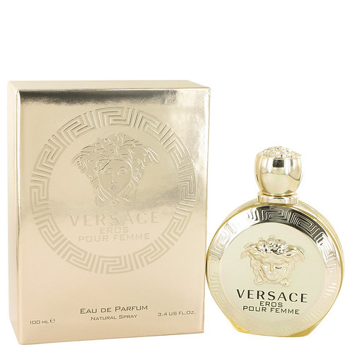 Versace Eros by Versace, 3.4 oz Eau De Parfum Spray for Women