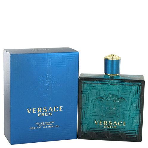 Versace Eros by Versace 3.4 oz Eau De Toilette Spray for Men