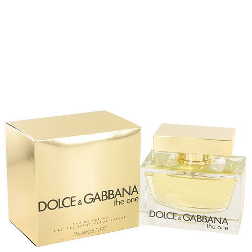 The One by Dolce & Gabbana 2.5 oz Eau De Parfum Spray for women
