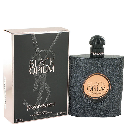 Black Opium by Yves Saint Laurent 3 oz Eau De Parfum Spray for women