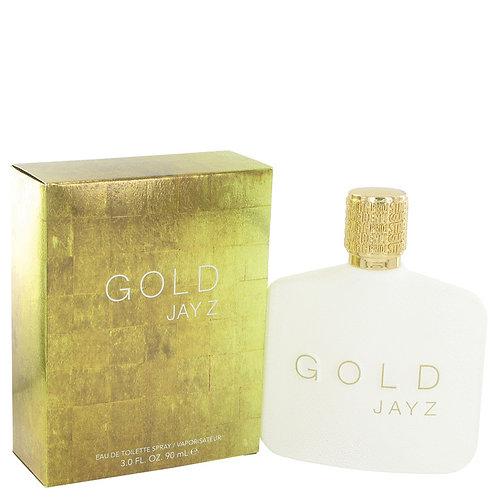 Gold Jay Z by Jay-Z 3 oz Eau De Toilette Spray for Men