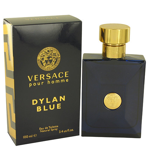 Versace Pour Homme Dylan Blue by Versace 3.4 oz Eau De Toilette Spray for Men