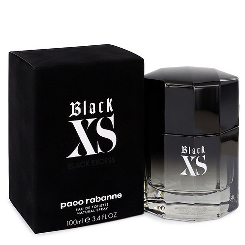 Black Xs by Paco Rabanne 3.4 oz Eau De Toilette Spray for men