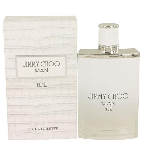 Jimmy Choo Ice by Jimmy Choo 3.4 oz Eau De Toilette Spray for Men