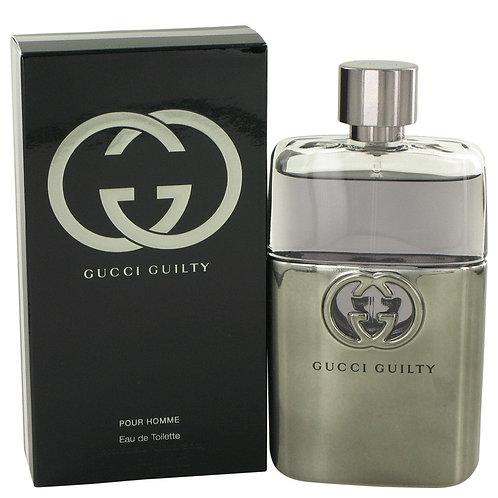 Gucci Guilty by Gucci, 3 oz Eau De Toilette Spray for Men