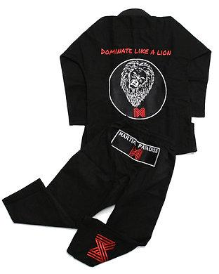 'Dominate like a lion' Lightweight Jiu-Jitsu KIDS Gi