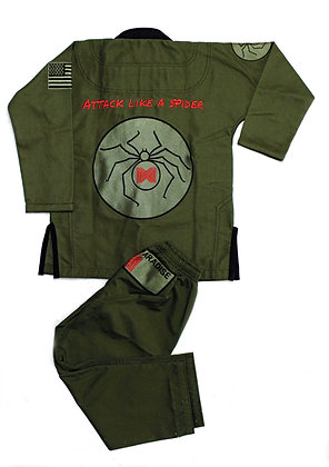 'Attack like a spider' Lightweight Jiu-Jitsu KIDS Gi