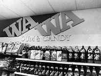 Wawa Interior Store Sign Letters