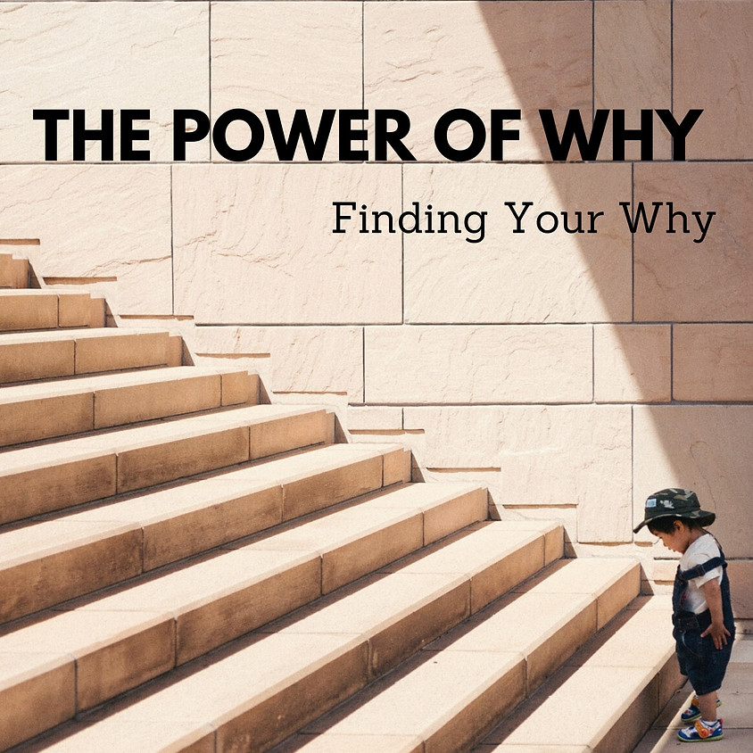 The Power of Why {Where to Start}