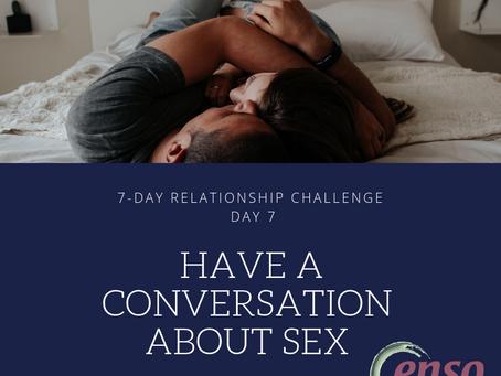 Have a Conversation About Sex