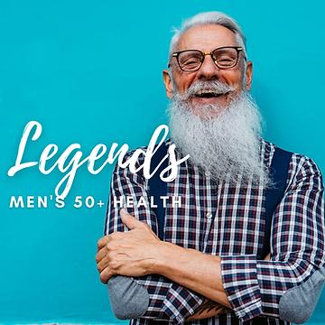 Legends {Men's Health 50+}
