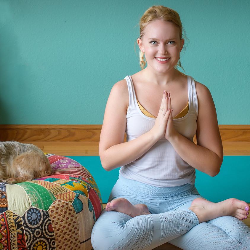 VIRTUAL Courage {Power Focused Yoga} with Tatiana
