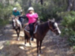 Horse riding Pemberton