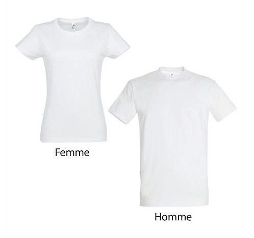 T-shirt Premium Blanc