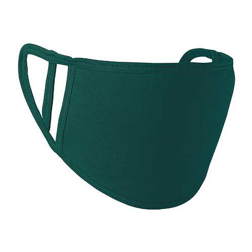 Masque antimicrobien Vert Bouteille
