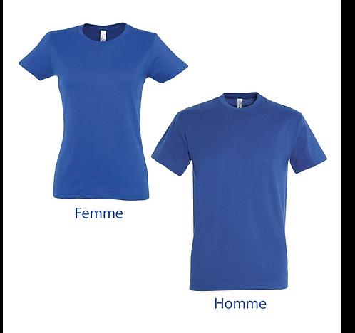 T-shirt Premium Bleu Roi