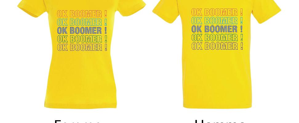 T-shirt OK BOOMER !
