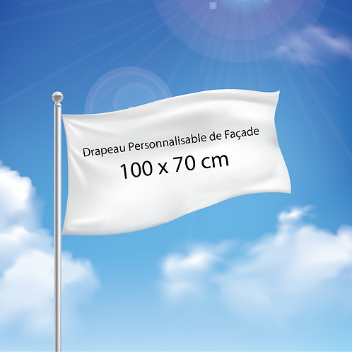 Drapeau de Façade 100x70 cm