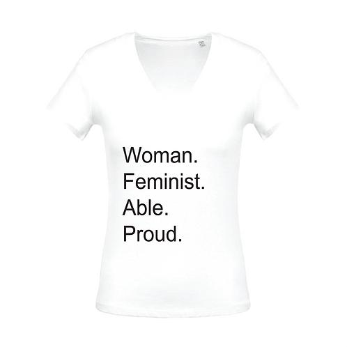 T-shirt Woman Proud