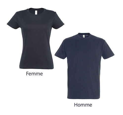 T-shirt Premium Bleu Navy