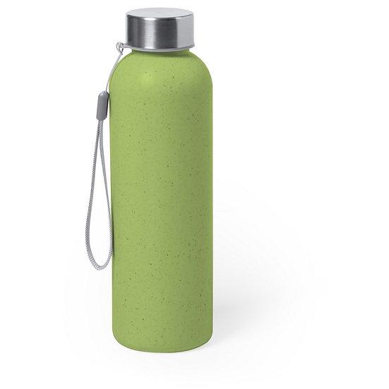 Bouteille de sport verte 600 ml avec poignée