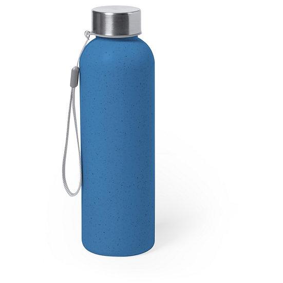 Bouteille de sport bleue 600 ml avec poignée