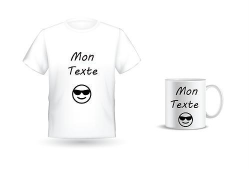 Pack Cadeau Mug + T-shirt