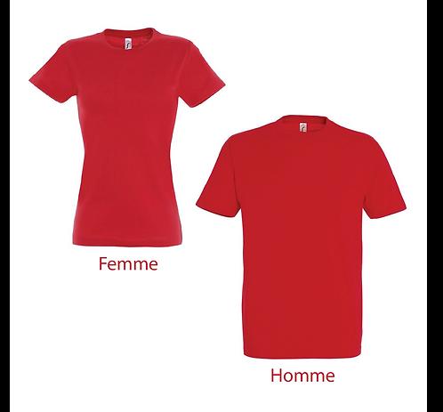 T-shirt Premium Rouge