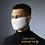 Thumbnail: Masque Pro+ de protection en tissu Blanc