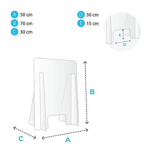Protection pour comptoir 50x70cm