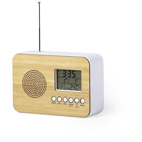 Station Radio en Bambou