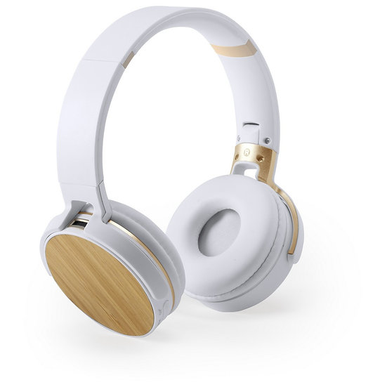 Casque bluetooth Design Bambou