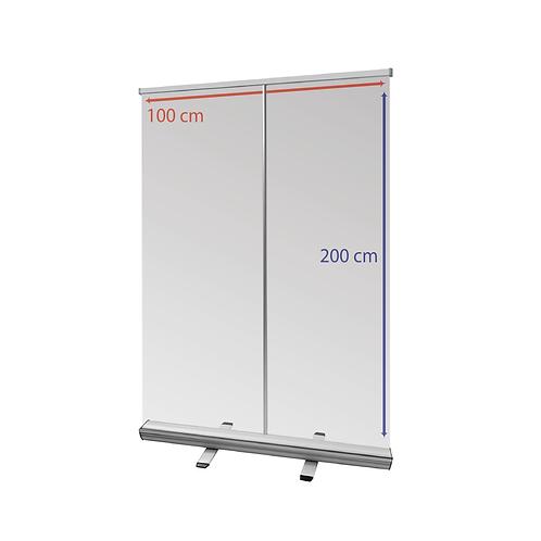 Protection mur transparent 100x200cm