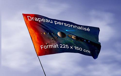 Drapeau de Façade 225x150 cm